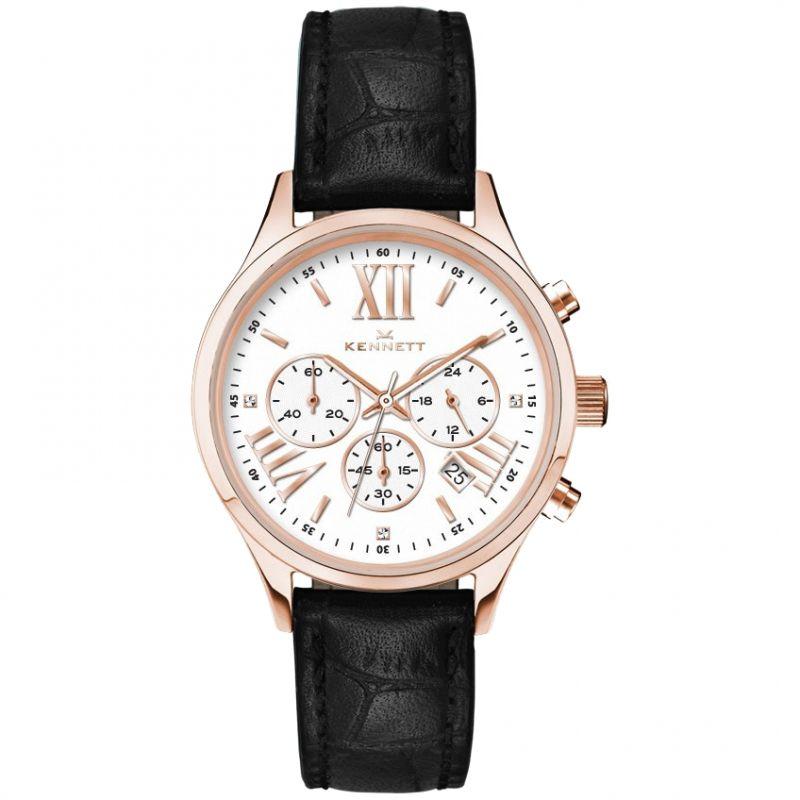 Damen Kennett Lady Savro Empire Chronograph Watch LSERGWHBK