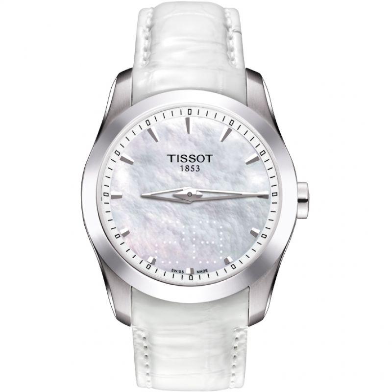 Damen Tissot Couturier Secret Date Watch T0352461611100