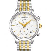 homme Tissot Tradition Chronograph Watch T0636172203700