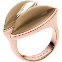 Ladies Skagen PVD rose plating Size M.5 Ring SKJ0487791505