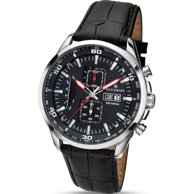 homme Accurist London Chronograph Watch 7004