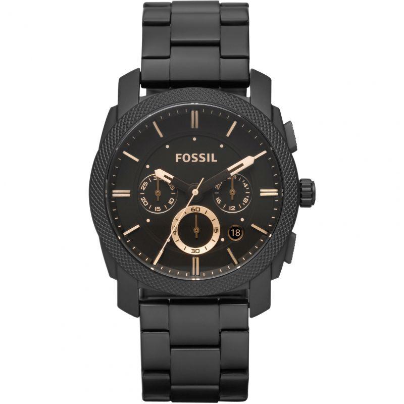 homme Fossil Machine Chronograph Watch FS4682