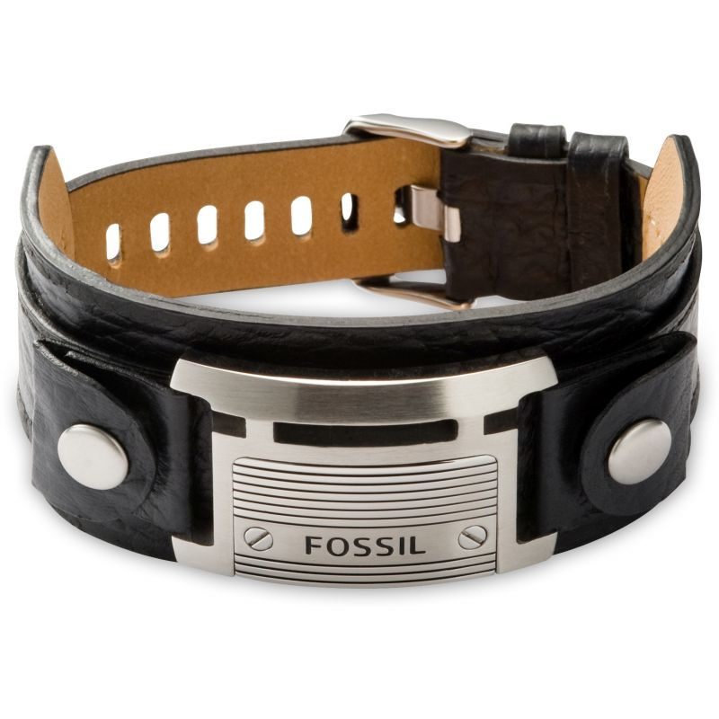 Mens Fossil Stainless Steel Casual Bracelet JF84816040