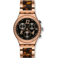 Damen Swatch Dreamnight Rose Chronograf Uhr