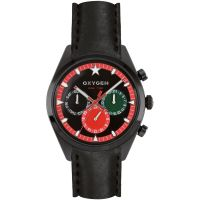 Mens Oxygen Sport Dual Time Watch EX-SDT-ROM-40-CL-BL