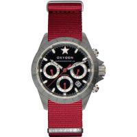 Herren Oxygen Chrono Chronograph Watch EX-C-SPR-42-NN-RE