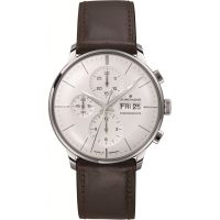 homme Junghans Meister Chronoscope Chronograph Watch 027/4120.01