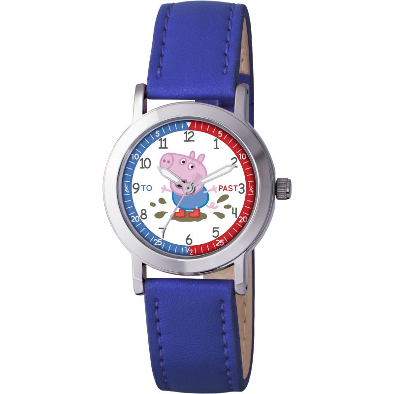 Childrens Peppa Pig George Time Teacher Watch PP008