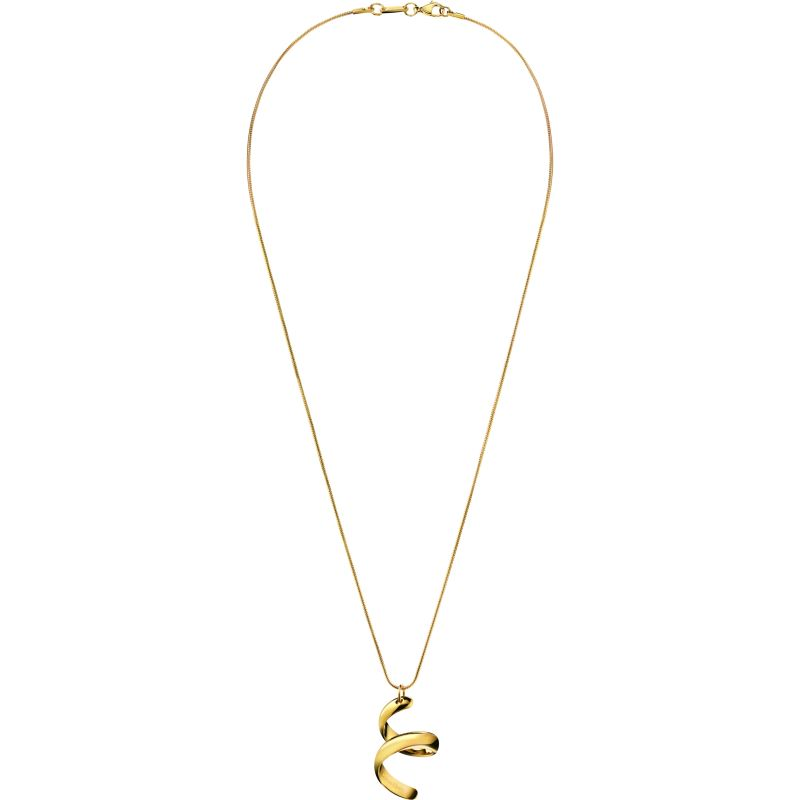 Ladies Calvin Klein PVD Gold plated Embrace Necklace KJ2KJP100100