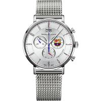 Maurice Lacroix Eliros FC Barcelona Special Edition Herrkronograf Silver EL1088-SS002-120-001