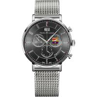 Maurice Lacroix Eliros FC Barcelona Special Edition Herrkronograf Silver EL1088-SS002-320-001