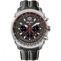 Mens Seiko Prospex Chronograph Solar Powered Watch