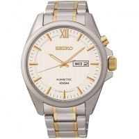 Mens Seiko Dress Kinetic Watch