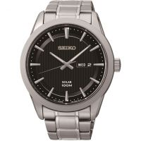 Mens Seiko Dress Solar Powered Watch