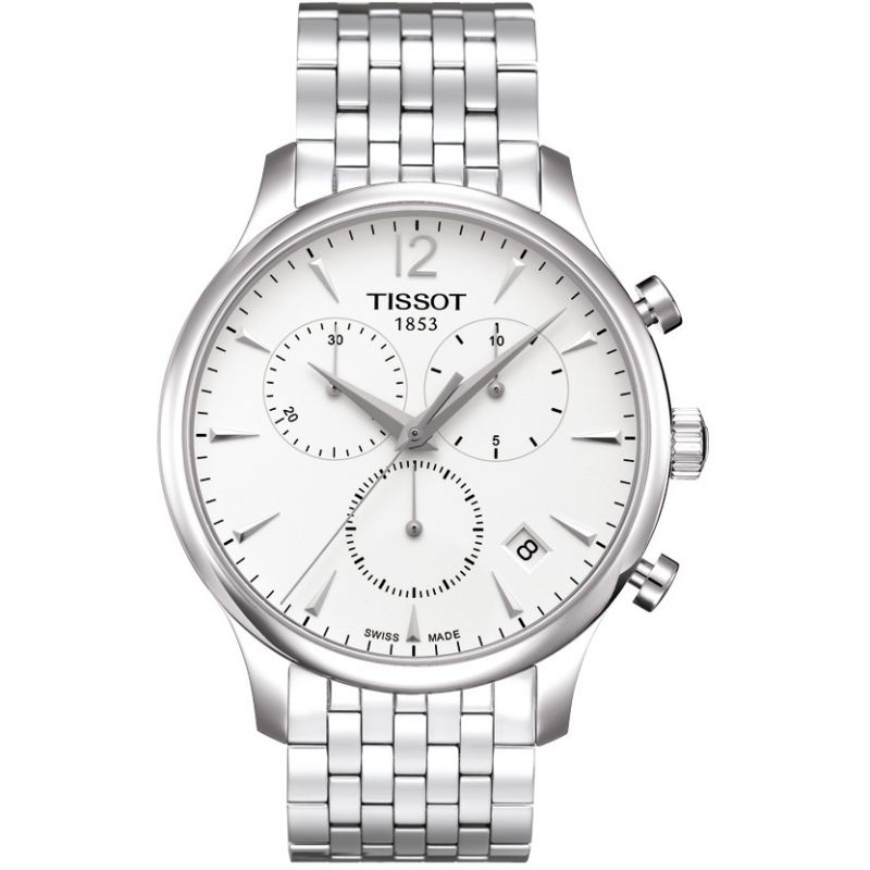 homme Tissot Tradition Chronograph Watch T0636171103700