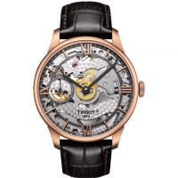 Herren Tissot Chemin Des Tourelles Squelette Watch T0994053641800