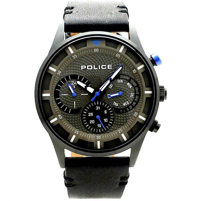 Mens Police Driver Watch 14383JSB/61