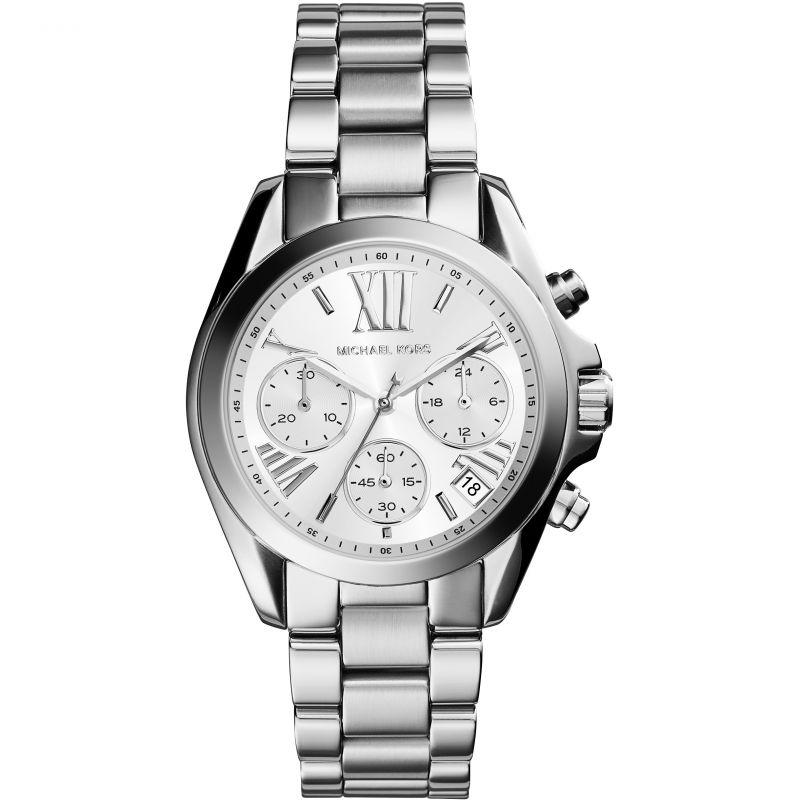 femme Michael Kors Mini Bradshaw Chronograph Watch MK6174