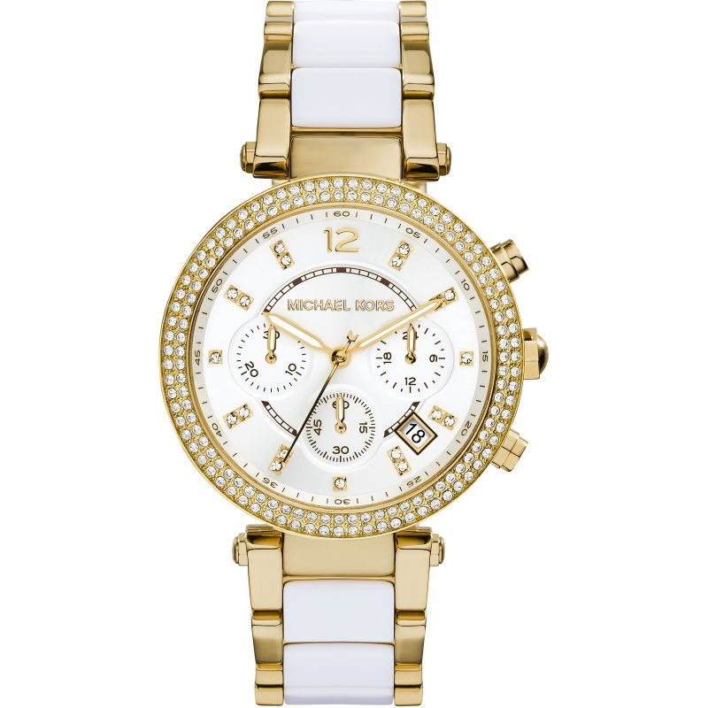 Ladies Michael Kors Parker Chronograph Watch MK6119
