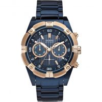 Guess Jolt Herenchronograaf Blauw W0377G4