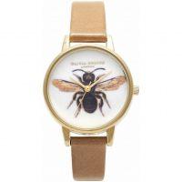 Damen Olivia Burton Woodland Biene Print Uhren