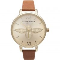 Femmes Olivia Burton Animal Motif 3D Abeille Big Dial Montre