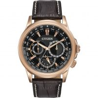 Herren Citizen World Timer Eco-Drive Watch BU2023-04E