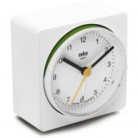 horloge Braun Clocks BNC011 Classic Bedside Alarm BNC011WHWH