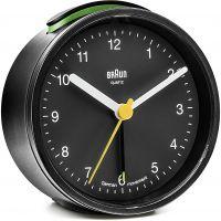 Wanduhr Braun Clocks BNC012 Classic Bedside Alarm BNC012BKBK