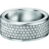 Damen Calvin Klein Edelstahl Größe L.5 Hook Ring