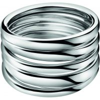 Ladies Calvin Klein Stainless Steel Size N Sumptuous Ring KJ2GMR000107