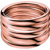 Ladies Calvin Klein PVD rose plating Size L.5 Sumptuous Ring KJ2GPR100106