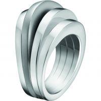 Damen Calvin Klein Edelstahl Größe L.5 Breathe Ring