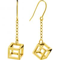 Ladies Calvin Klein PVD Gold plated Daring Earrings