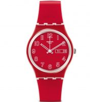 Unisexe Swatch Original Homme - Poppy Field Montre