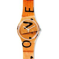 Unisex Swatch New Gent - Love Game Watch SUOW116