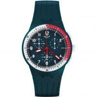 Herren Swatch Chrono Plastic - El Comandante Chronograf Uhr