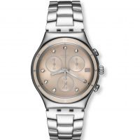 Ladies Swatch Irony Chrono - Classy Shine Chronograph Watch