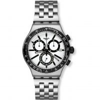 homme Swatch Irony Chrono - Destination Rotterdam Chronograph Watch YVS416G
