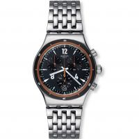 Herren Swatch eisern Chrono - Destination Madrid Chronograf Uhr