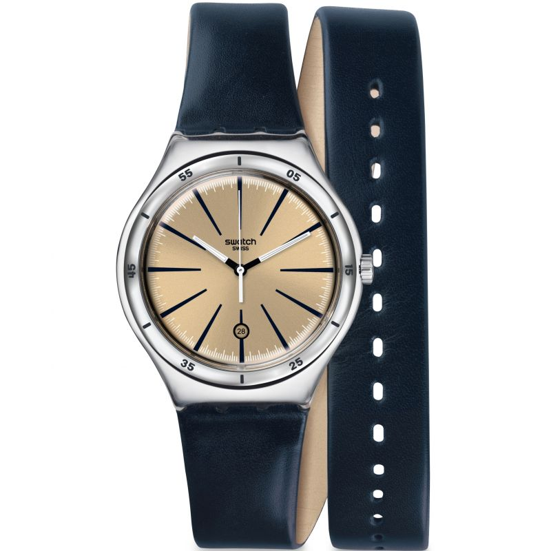 Mens Swatch Irony Big - Double Depth Watch YWS408