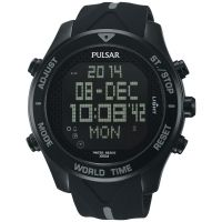 Mens Pulsar Alarm Chronograph Watch PQ2041X1