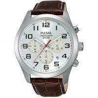 Herren Pulsar Chronograph Watch PT3663X1