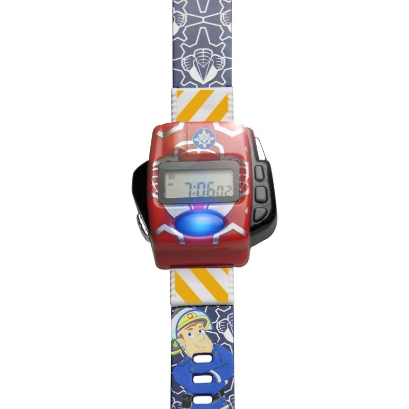 Childrens Character Fireman Sam Emergency Response Unit Watch FS25