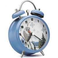 Childrens Character Olaf Mini Twin Bell Alarm Watch