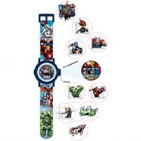 Childrens Character Marvel Multi-Projection Watch