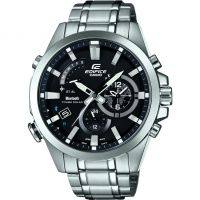 Hommes Casio Edifice Heure Traveller Bluetooth Hybride Smartwatch Alarme Chronographe Montre