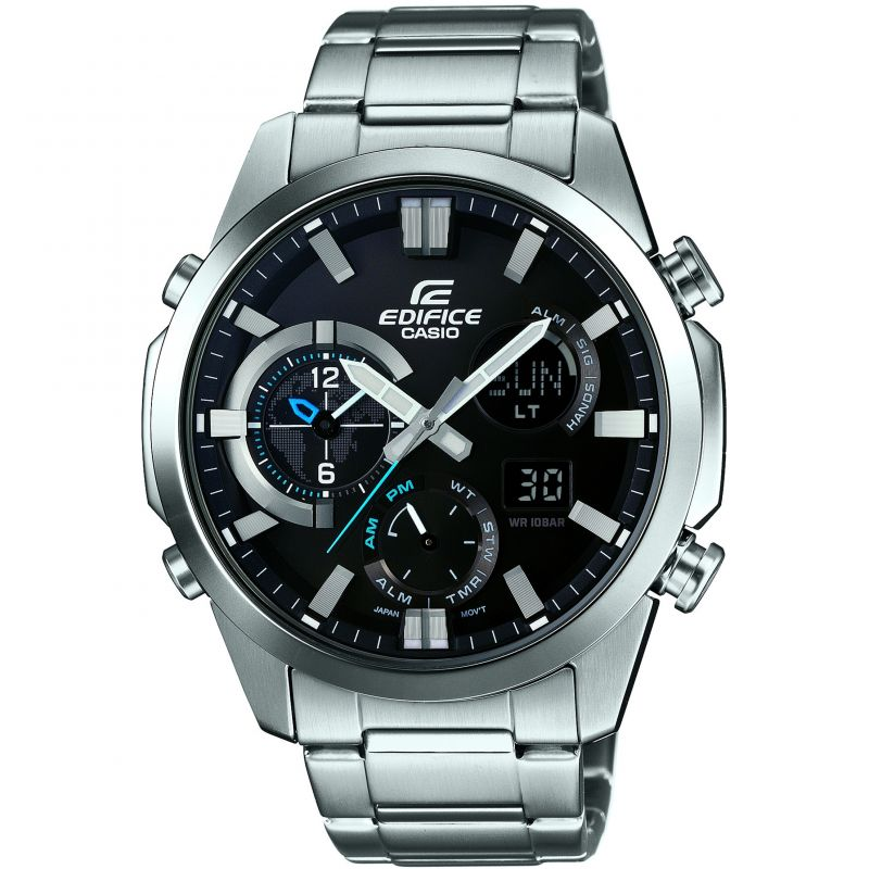 Mens Casio Edifice Alarm Chronograph Watch ERA-500D-1AER