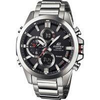 Mens Casio Edifice Bluetooth Hybrid Smartwatch Alarm Chronograph Watch