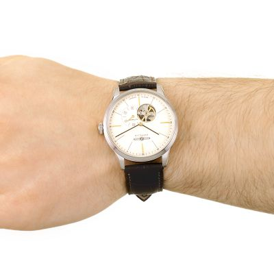 www.7364.com_Gents Zeppelin Flatline Watch (7364-5) | WatchShop.com™
